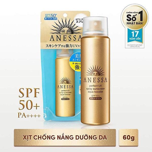 Xịt Chống Nắng Shiseido Anessa Perfect UV Spray SPF 50+