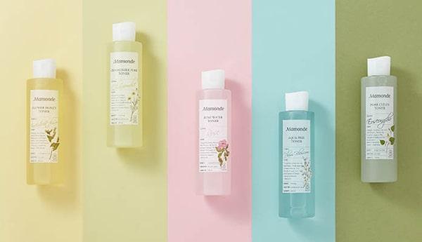 Nước hoa hồng thương hiệu Mamonde - Bí quyết làm đẹp cho phái đẹp