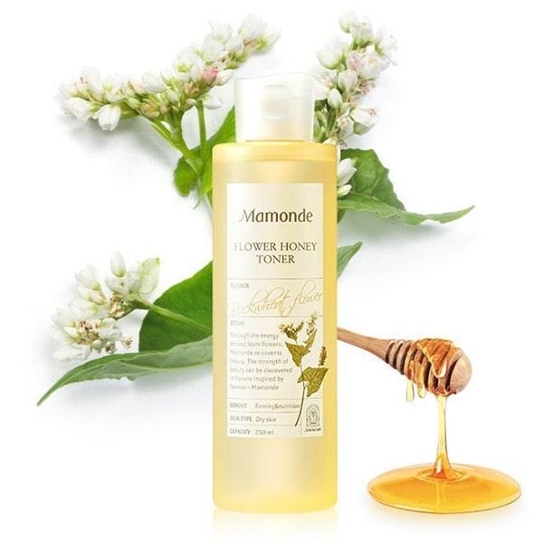 Nước hoa hồng Mamonde Flower Honey Toner