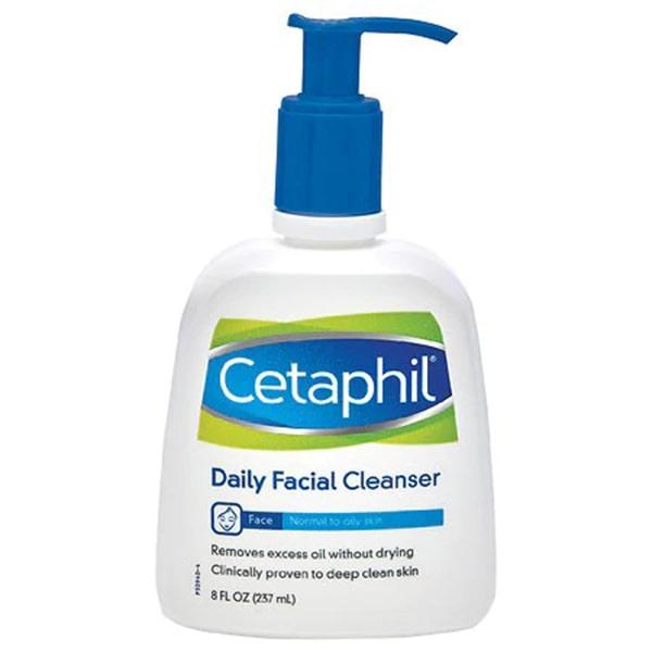 Sữa rửa mặt Cetaphil Facial Cleanser cho da thường
