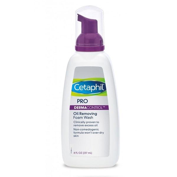 Sữa rửa mặt Cetaphil Dermacontrol Foam Wash phù hợp với da nhạy cảm