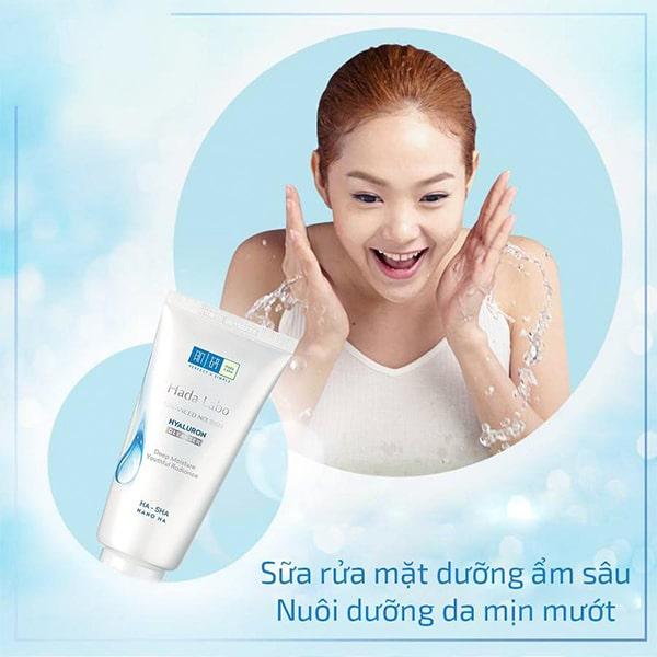 Làm sạch hiệu quả nuôi dưỡng làn da