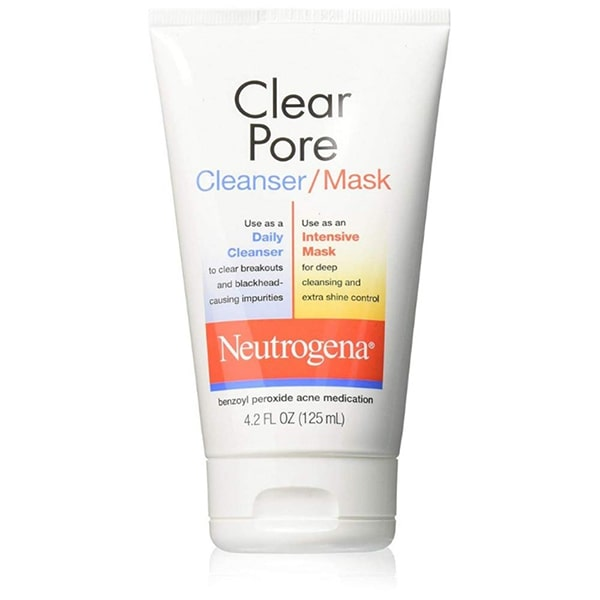 Sữa rửa mặt Neutrogena Clear Pore Cleanser Mask