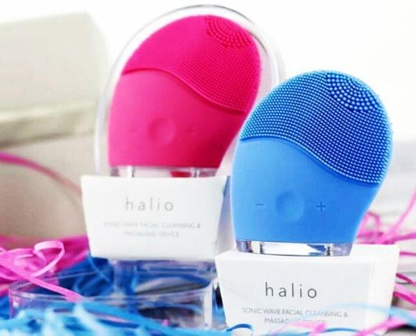 Máy rửa mặt Halio Facial Cleansing & Massaging