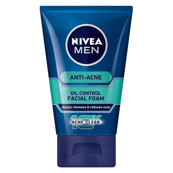 Nivea Men 10X Acne Clear Cooling Mud Face Wash
