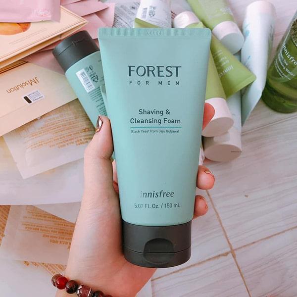 Sữa rửa mặt Innisfree cho nam Forest For Men