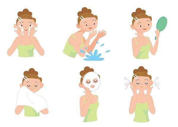 Các bước rửa mặt giúp làm sạch da