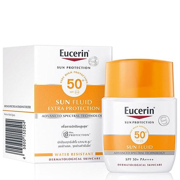 Kem chống nắng cho da dầu Eucerin Sun Fluid Mattifying