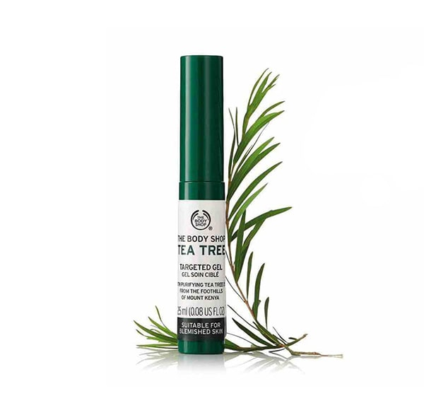 Kem đặc trị thâm mụn The Body Shop Tea Tree Blemish Gel