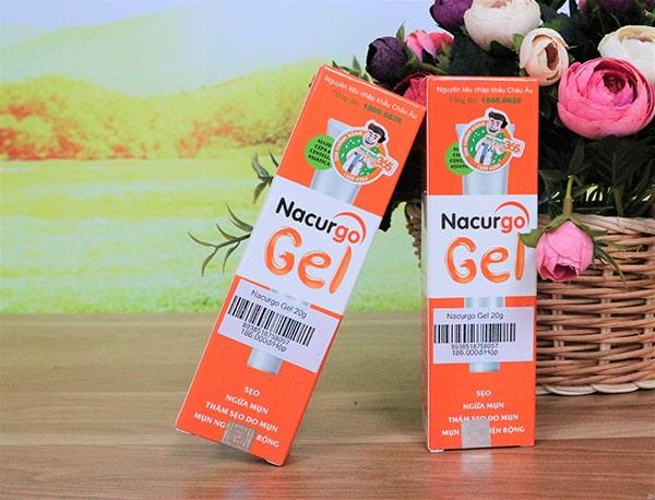 Bộ sản phẩm trị mụn Nacurgo và Nacurgo Gel