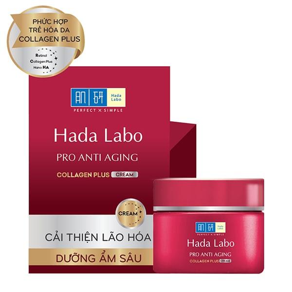 Kem dưỡng da chống lão hóa Hada Labo Pro Anti Aging Plus Cream