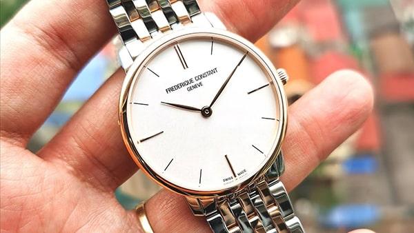 Đánh giá đồng hồ Frederique Constant Slimline FC-220V5S5B