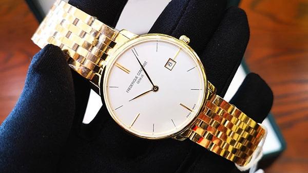 Đồng hồ Frederique Constant SlimlineFC-220V5S5B có giá tham khảo là 26.900.000 VNĐ