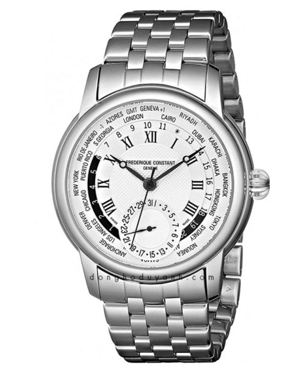 Đồng hồ Frederique Constant Manufacture Worldtimer FC-718MC4H6B có giá tham khảo là 75.890.000 VNĐ