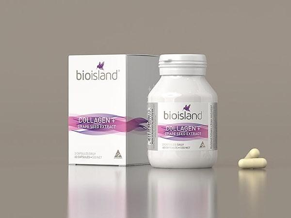 Viên uống collagen Úc Bio Island