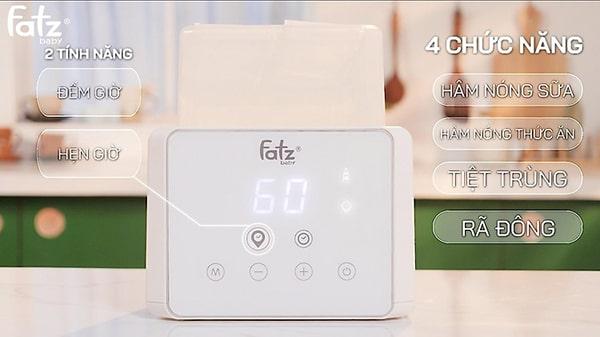 Máy hâm sữa tiệt trùng điện tử Fatzbaby Duo 3- FB3093VN