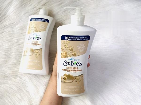 Sữa dưỡng thể ST.IVES