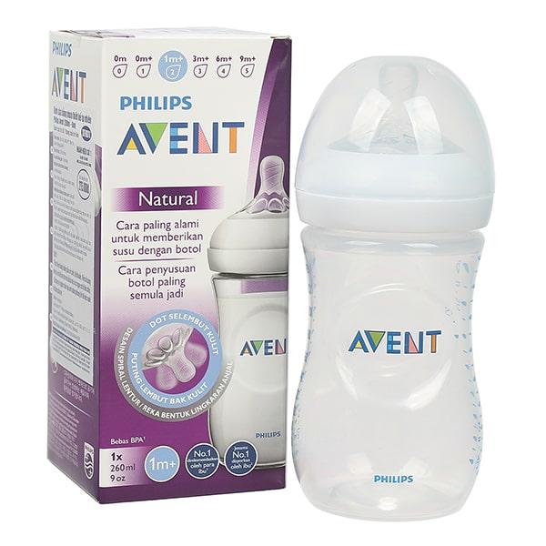 Bình sữa Avent có nhiều ưu điểm vượt trội