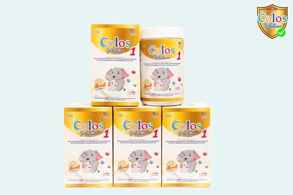 Sữa non Colos Platium 1 cần thiết cho trẻ sơ sinh