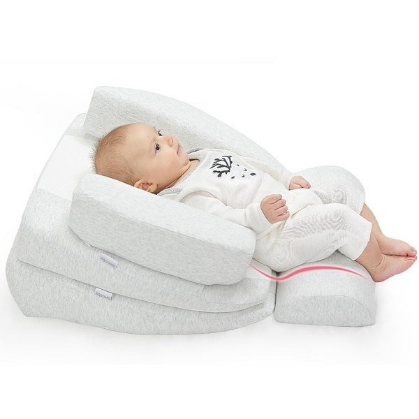 Cách dùng gối chống trào ngược cho trẻ sơ sinh