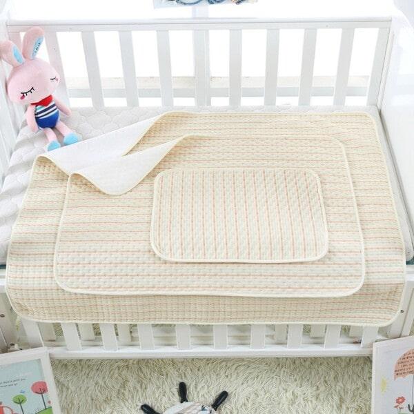 Tấm lót chống thấm cho bé Organic Good Cotton Babyup