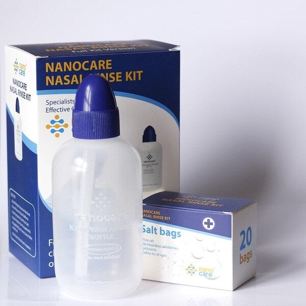 Bình rửa mũi Nano Care Full Kit