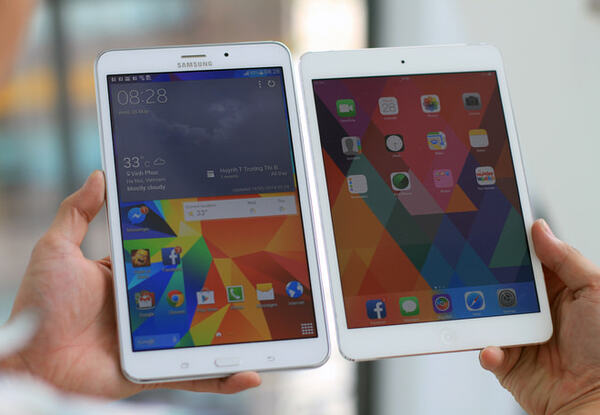 Nên chọn Ipad hay Samsung?