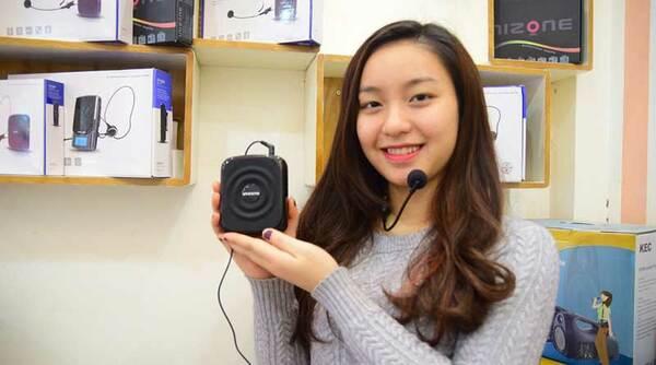 Máy trợ giảng là thiết bị có khả năng khuếch đại âm thanh