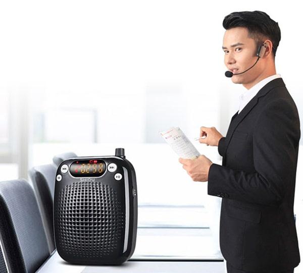 Máy trợ giảng giúp bảo vệ thanh quản của những người thường xuyên nói nhiều