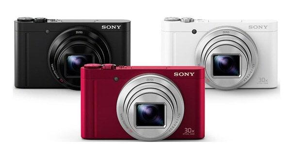 Máy chụp hình Sony với thiết kế hiện đại