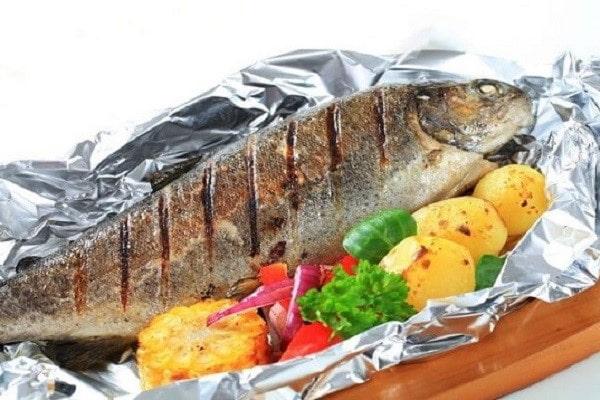 Sử dụng nồi chiên không dầu các chị em sẽ có được những món cá ngon