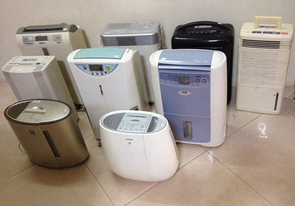 Có những loại máy hút ẩm nào trên thị trường