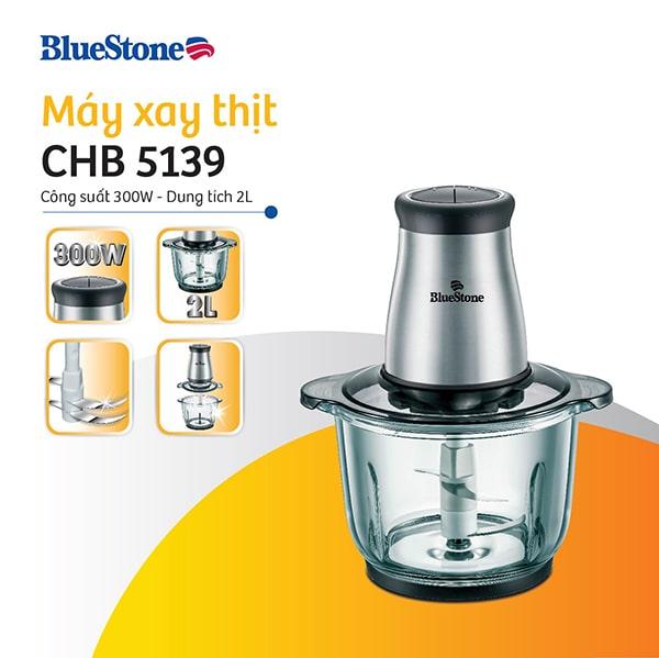 Máy xay thịt cầm tay Bluestone với model CHB-5139