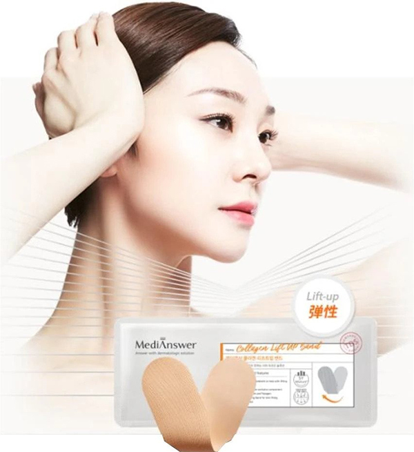 Mặt nạ thon gọn mặt v-line Collagen MediAnswer