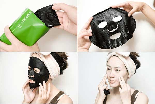 Mặt nạ dưỡng trắng da Naruko Tea Tree Shine Control & Blemish Clear Mask