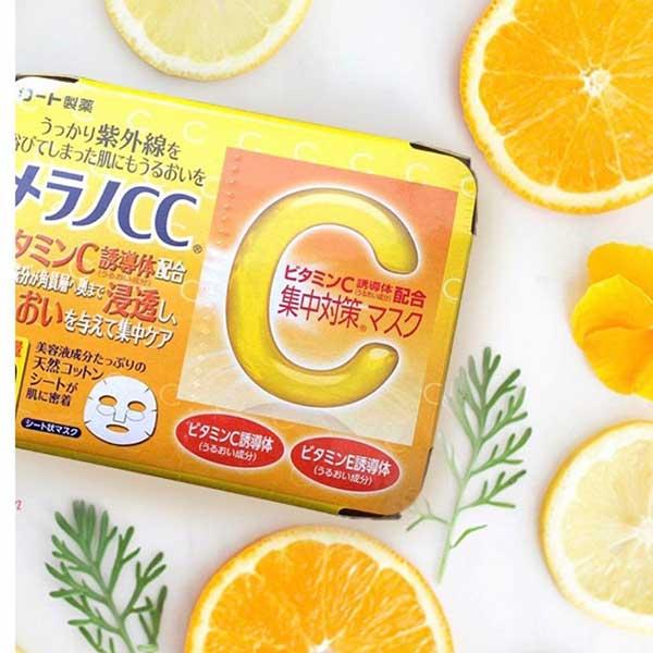 Mặt nạ Melano CC Vitamin C