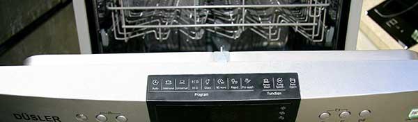 Các chương trình rửa của máy rửa bát Dusler SMS88DL03E
