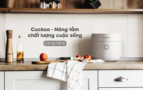 Nồi cơm điện tử Cuckoo model CR-0675FW