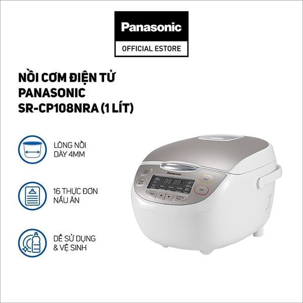 Nồi cơm điện Panasonic SR-CP108NRA 1L