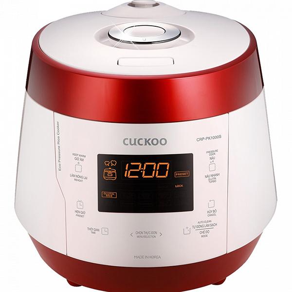Nồi cơm áp suất điện tử Cuckoo CRP-PK1000S 1.8L