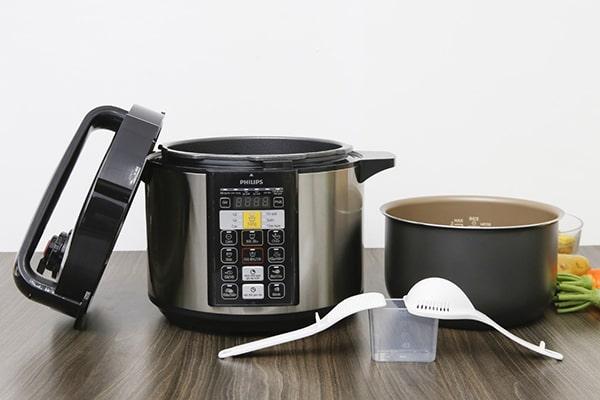 Nồi áp suất nấu được nhiều món khác nhau