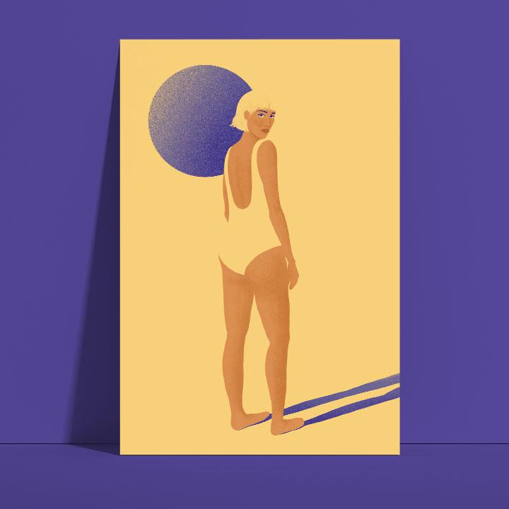 Illustration on body positivity