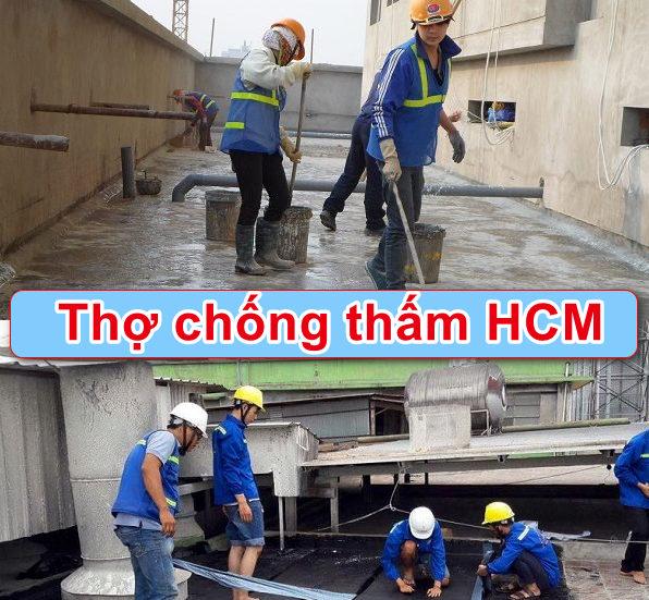Thợ chống thấm HCM