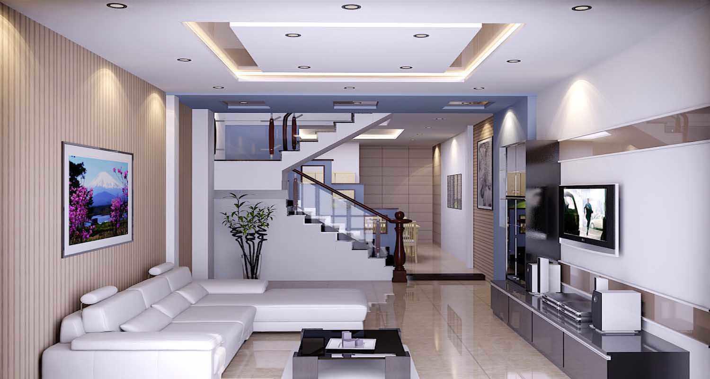 mẫu thạch cao phòng khách hiện đại