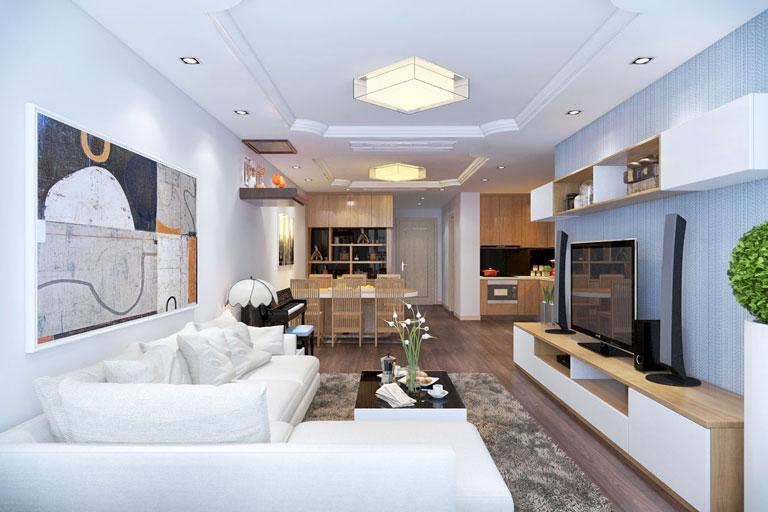 mẫu thạch cao phòng khách đẹp