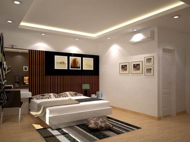 mẫu thạch cao phòng ngủ đơn giản & đẹp