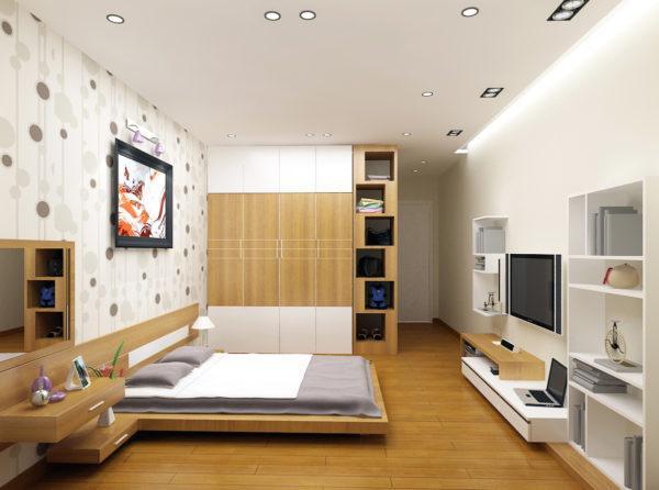 mẫu thạch cao phòng ngủ nhỏ đẹp