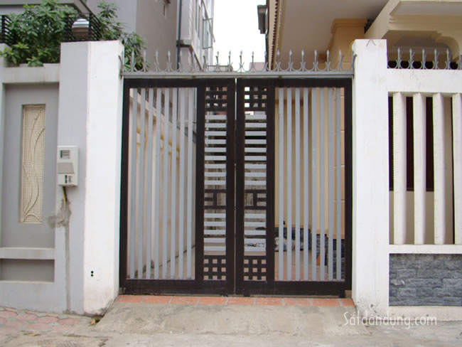 mẫu cửa sắt cổng đẹp