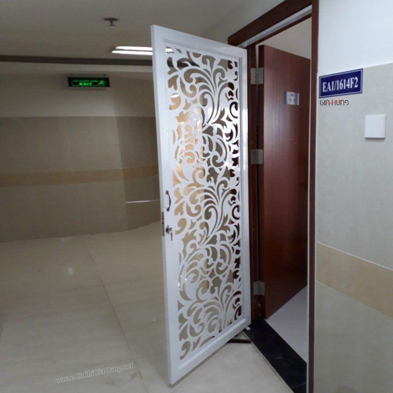 mẫu cửa sắt cnc chung cư
