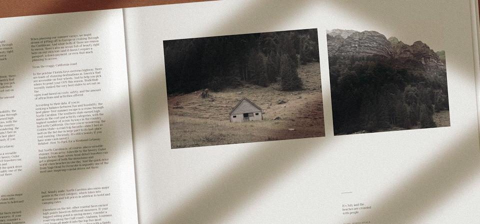 an open design booklet